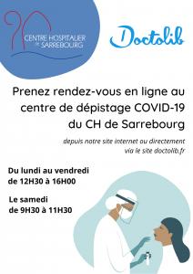 Centre de dépistage COVID-19