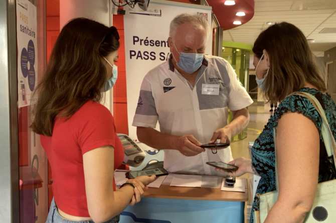 Reportage Moselle TV : l'entrée en vigueur du pass sanitaire